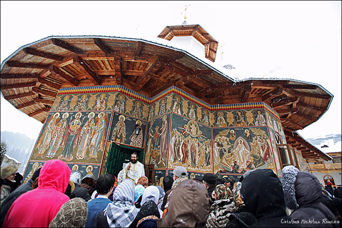 De ziua Parintelui Justin Parvu, la Manastirea Petru Voda