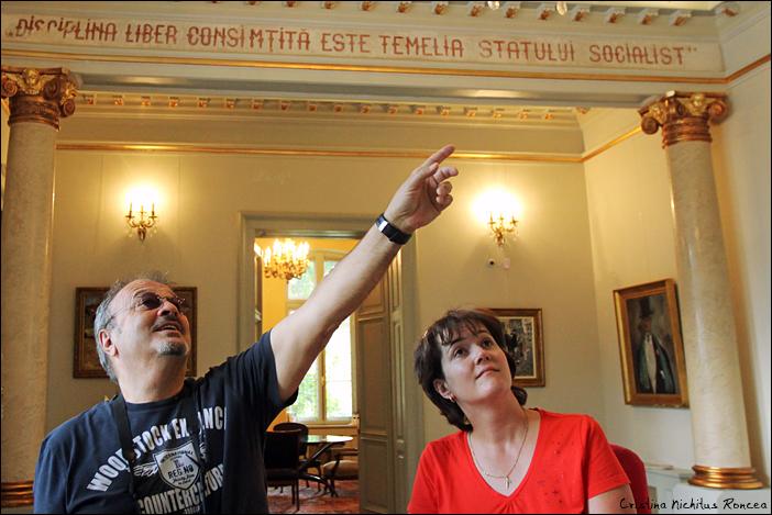 7 Mircea Baniciu la Domeniul Manasia si Conacul Hagianoff - Obrenovici  - foto Cristina Nichitus