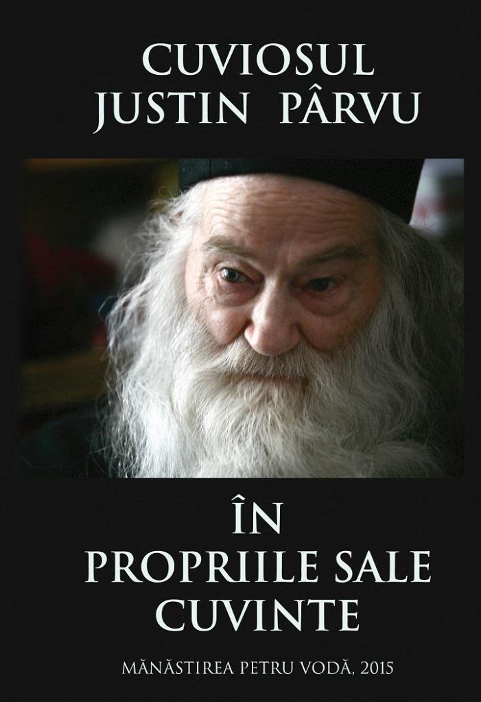 Cuviosul-Justin-Parvu-in-propriile-sale-cuvinte Foto coperta de Cristina Nichitus Roncea
