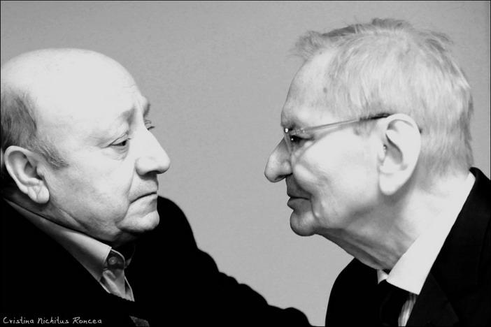 Radu Beligan si Marin Moraru - foto Cristina Nichitus Roncea