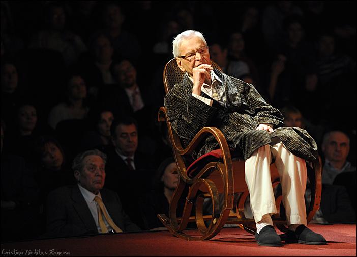 58 Radu Beligan - Aniversare 92 la TNB cu Egoistul - 2010 - foto Cristina Nichitus Roncea