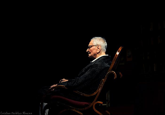 59 Radu Beligan - Aniversare 92 la TNB cu Egoistul - 2010 - foto Cristina Nichitus Roncea