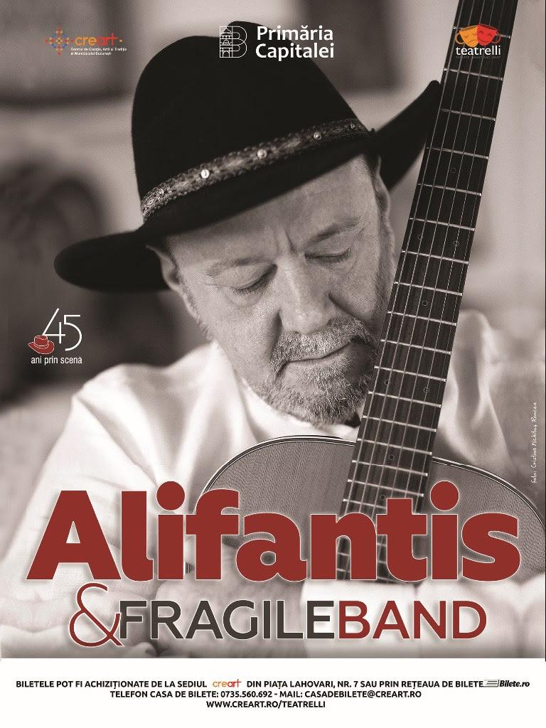 Nicu Alifantis & Fragile Band 2018 Foto Afis de Cristina Nichitus Roncea